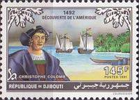 [The 500th Anniversary (1992) of Discovery of America by Columbus, Typ MF]