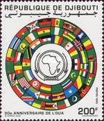 [The 30th Anniversary of Organization of African Unity, Typ NB]