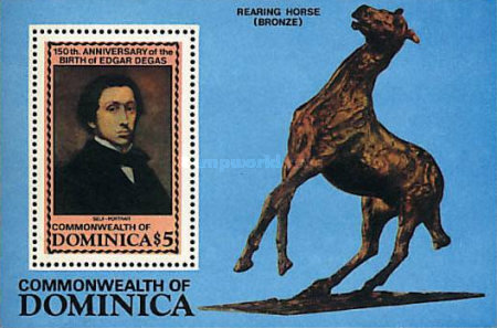 [The 150th Anniversary of the Birth of Edgar Degas (Painter), 1834-1917, Typ ]