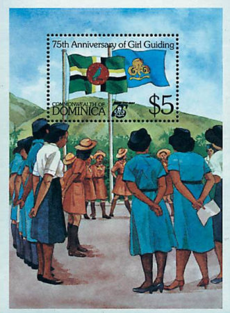 [The 75th Anniversary of Girl Guide Movement, Typ ]