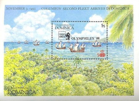 [International Stamp Exhibitions - Issues of 1987 Overprinted, Typ ]