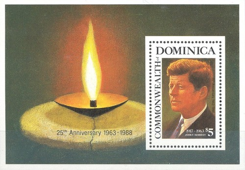[The 25th Anniversary of the Death of John F. Kennedy (American Statesman), 1917-1963, Typ ]