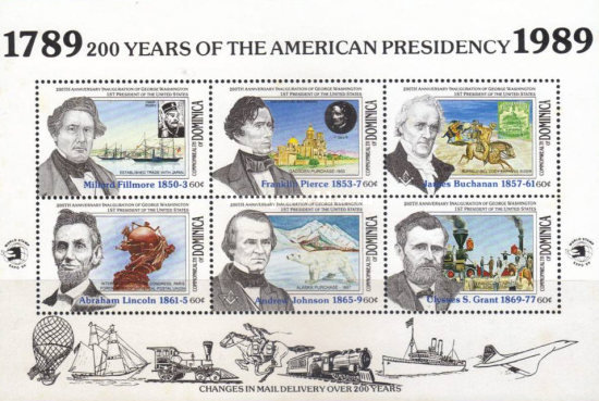 [The 200th Anniversary of U.S. Presidency, Typ ]