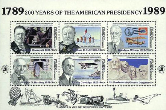 [The 200th Anniversary of U.S. Presidency, type ]