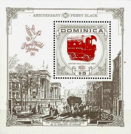 [The 150th Anniversary of the Penny Black - Historical Post Vehicles, Typ ]