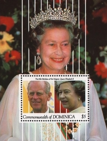 [The 65th Anniversary of the Birth of Queen Elizabeth II, type ]