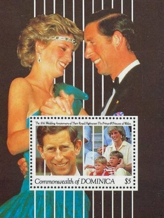[The 10th Anniversary of the Wedding of Prince and Princess of Wales, type ]