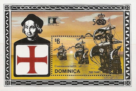 [The 500th Anniversary of Discovery of America by Columbus - International Stamp Exhibition
