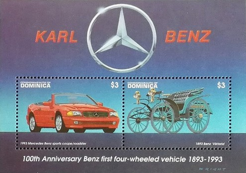 [The 100th Anniversary of Henry Ford's First Petrol Engine and Karl Benz's First Four-wheeled Car, Typ ]