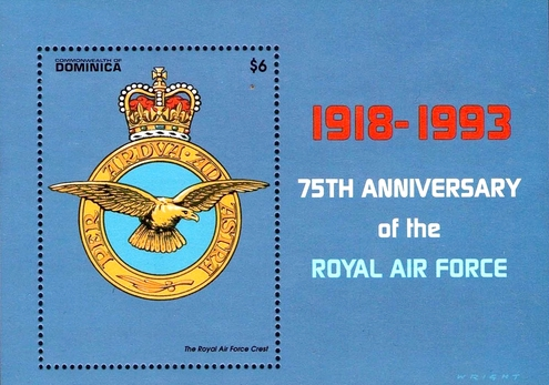 [The 75th Anniversary of Royal Air Force (RAF), Typ ]