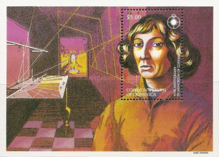 [The 450th Anniversary of the Death of Copernicus (Astronomer), 1473-1543, Typ ]