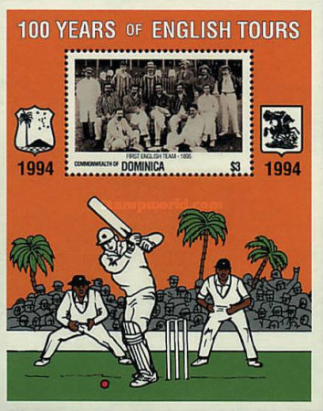 [The 100th Anniversary (1995) of First English Cricket Tour to the West Indies, Typ ]