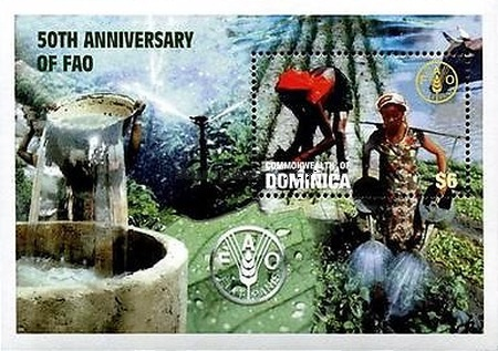 [The 50th Anniversary of Food and Agriculture Organization, Typ ]