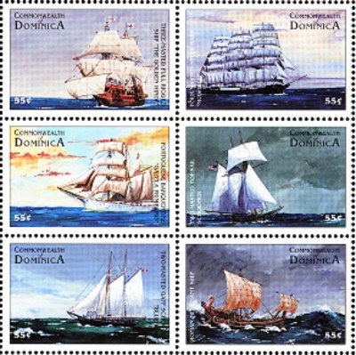 [History of Sailing Ships, Typ ]