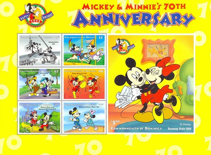 [The 70th Anniversary of Mickey and Minnie Mouse, Typ ]