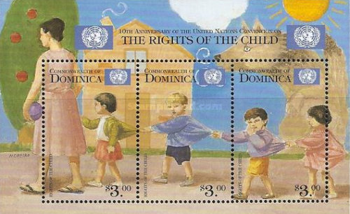 [The 10th Anniversary of United Nations Rights of the Child Convention, Typ ]
