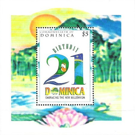 [The 21st Anniversary of Dominica Festivals Commission, Typ ]