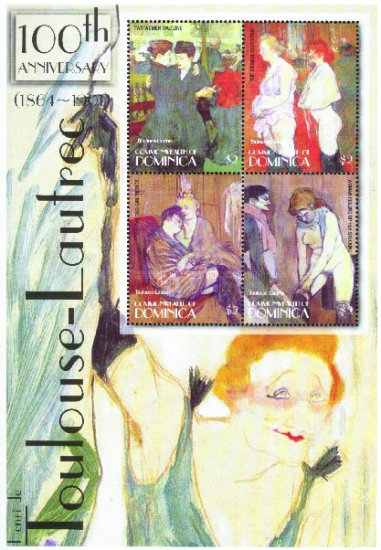 [The 100th Anniversary of the Death of Henri de Toulouse-Lautrec (French Painter), 1864-1901, Typ ]