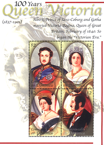 [The 100th Anniversary of the Death of Queen Victoria, 1837-1901, Typ ]