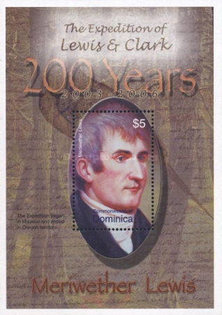 [The 200th Anniversary (2004) of Lewis and Clark's Expedition to the American West and Pacific North West, Typ ]