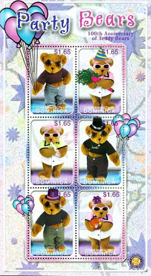 [The 100th Anniversary of the Teddy Bear, Typ ]