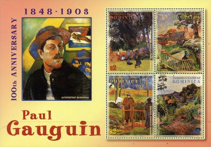 [The 100th Anniversary of the Death of Paul Gauguin (Artist), 1848-1903, Typ ]