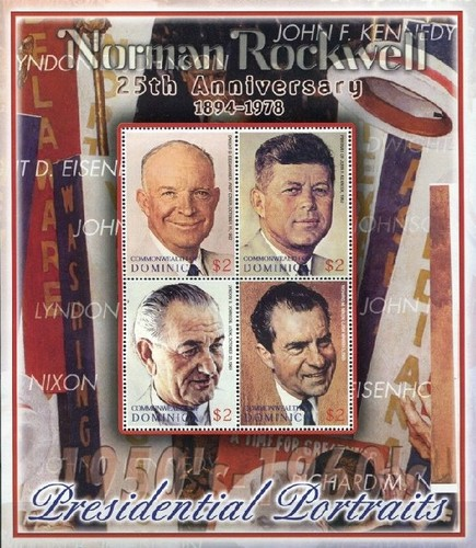 [The 25th Anniversary (2003) of the Death of Norman Rockwell (Artist), 1894-1978, Typ ]