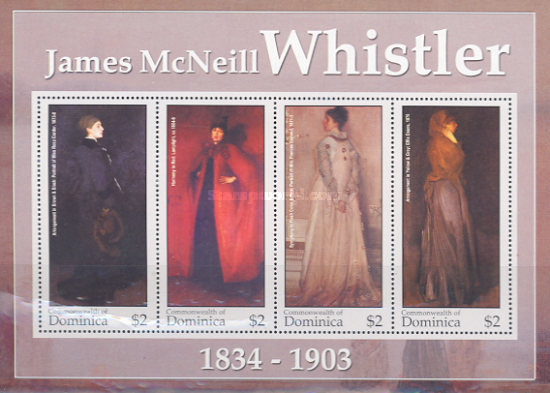 [The 200th Anniversary of the Birth of James McNeill Whistler (Artist), 1834-1903, Typ ]