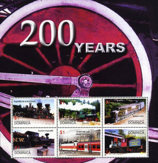 [The 200th Anniversary of Steam Trains, Typ ]