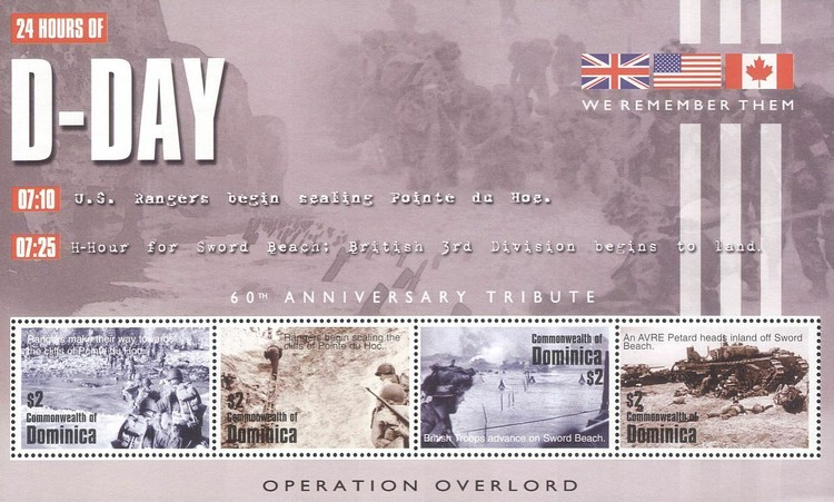 [The 60th Anniversary of D-Day Landings, Typ ]