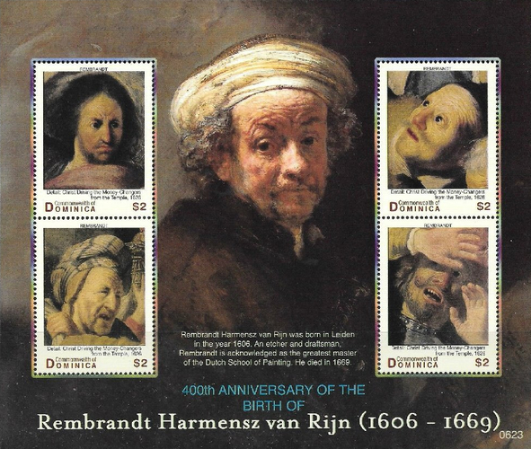 [The 400th Anniversary of the Birth of Rembrandt (Painter), 1606-1669, Typ ]