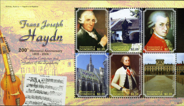 [The 200th Anniversary of the Death of Joseph Haydn, 1732-1809, Typ ]