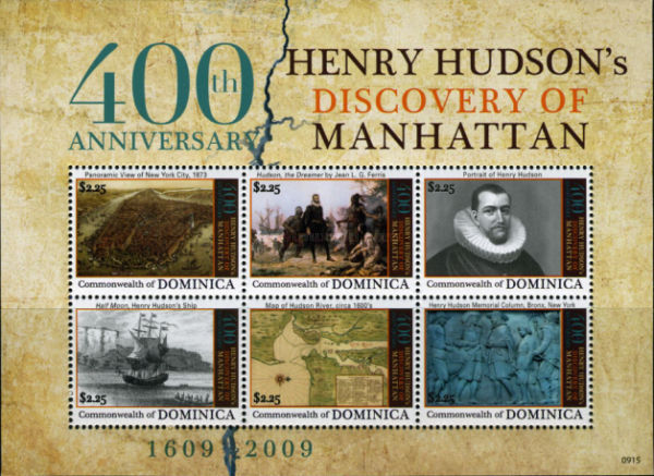 [The 400th Anniversary of Henry Hudson's Discovery of Manhattan, Typ ]