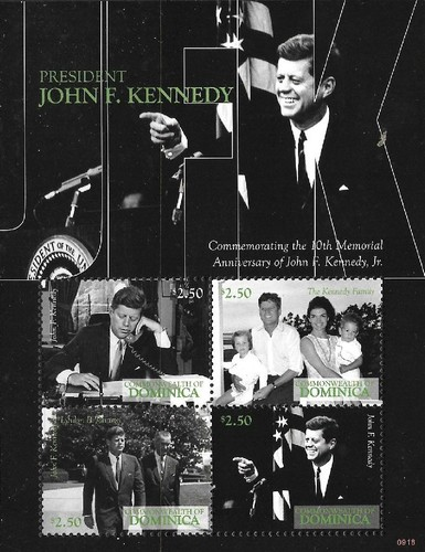 [The 10th Memorial Anniversary of John F. Kennedy. Jr, Typ ]