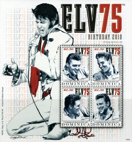 [The 75th Anniversary of the Birth of Elvis Presley, type ]