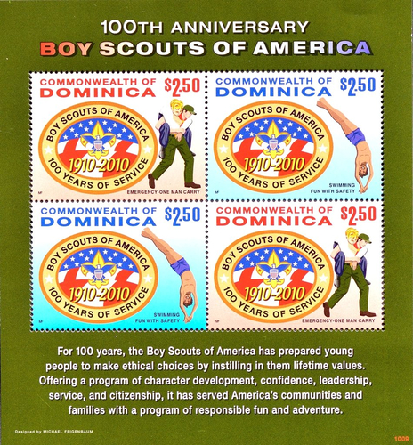 [The 100th Anniversary of Boy Scouts of America, type ]