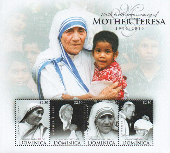 [The 100th Anniversary of the Birth of Mother Teresa, 1910-1997, Typ ]