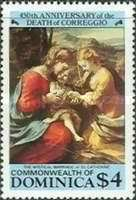 [The 450th Anniversary of the Death of Correggio (Painter), 1494-1534, Typ ABJ]