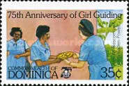 [The 75th Anniversary of Girl Guide Movement, Typ ACM]