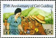 [The 75th Anniversary of Girl Guide Movement, Typ ACN]
