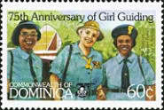 [The 75th Anniversary of Girl Guide Movement, Typ ACO]
