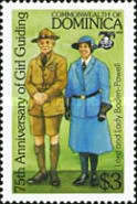 [The 75th Anniversary of Girl Guide Movement, Typ ACP]