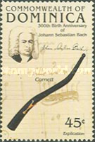 [The 300th Anniversary of the Birth of Johann Sebastian Bach (Composer), 1685-1750, Typ ADK]