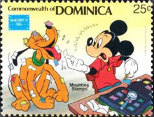 [Disney - International Stamp Exhibition