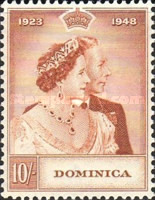 [The 25th Anniversary of the Wedding of King George VI, Typ AG]