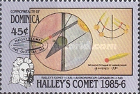 [Appearance of Halley's Comet - Issues of 1986 Overprinted, Typ AGF2]