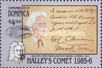 [Appearance of Halley's Comet - Issues of 1986 Overprinted, Typ AGF3]