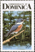[Birds of Dominica, Typ AGM]