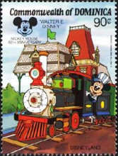 [The 60th Anniversary of Mickey Mouse (Walt Disney Cartoon Character), Typ AIW]