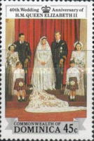 [The 40th Anniversary of the Wedding of Queen Elizabeth II and Prince Philip, Typ AJC]